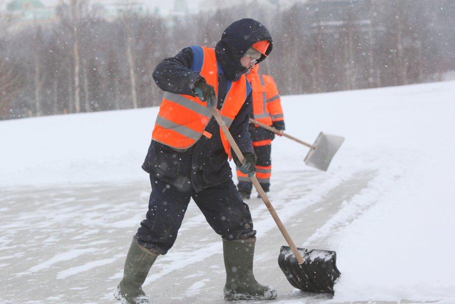 В Москве объявлен «жёлтый» уровень погодной опасности до 14 января