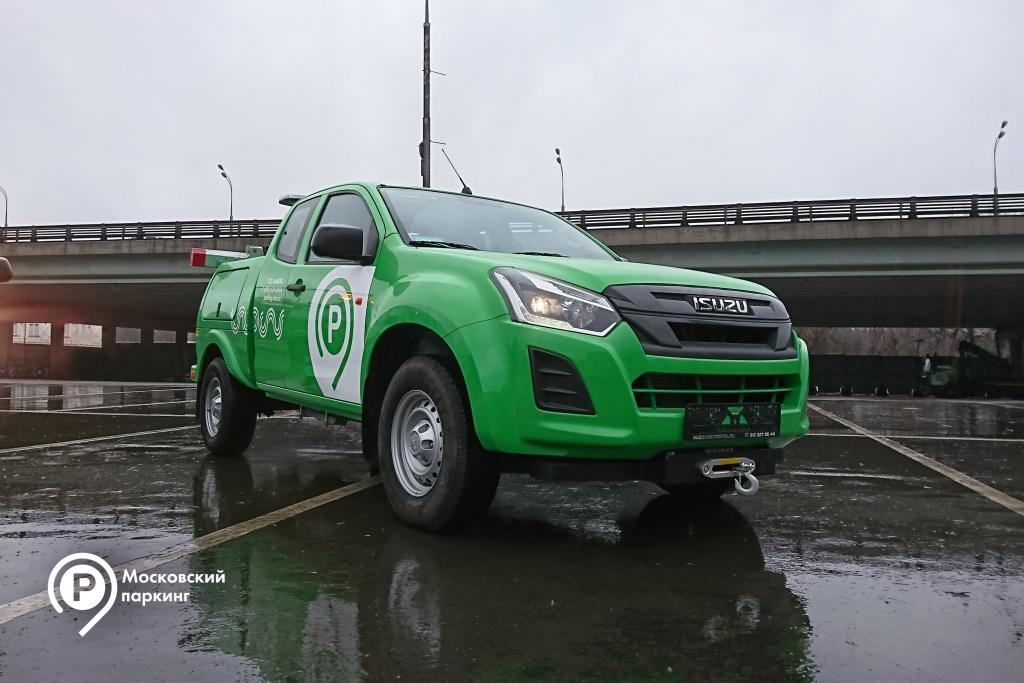 На московских дорогах появятся легковые эвакуаторы
