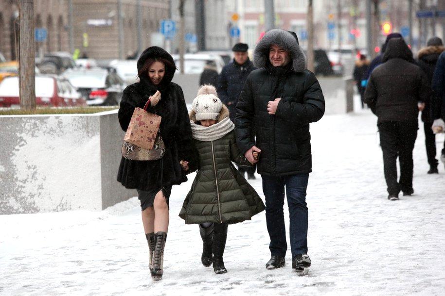 В Москве за ночь резко упало атмосферное давление