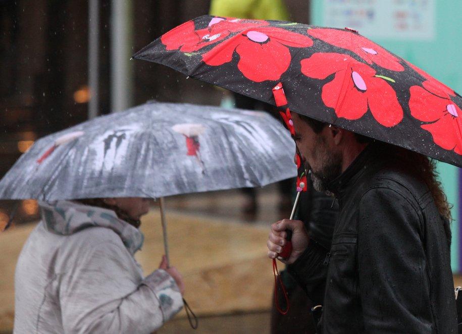 «Желтый» уровень опасности из‑за дождя объявили в Московском регионе на 27–28 февраля