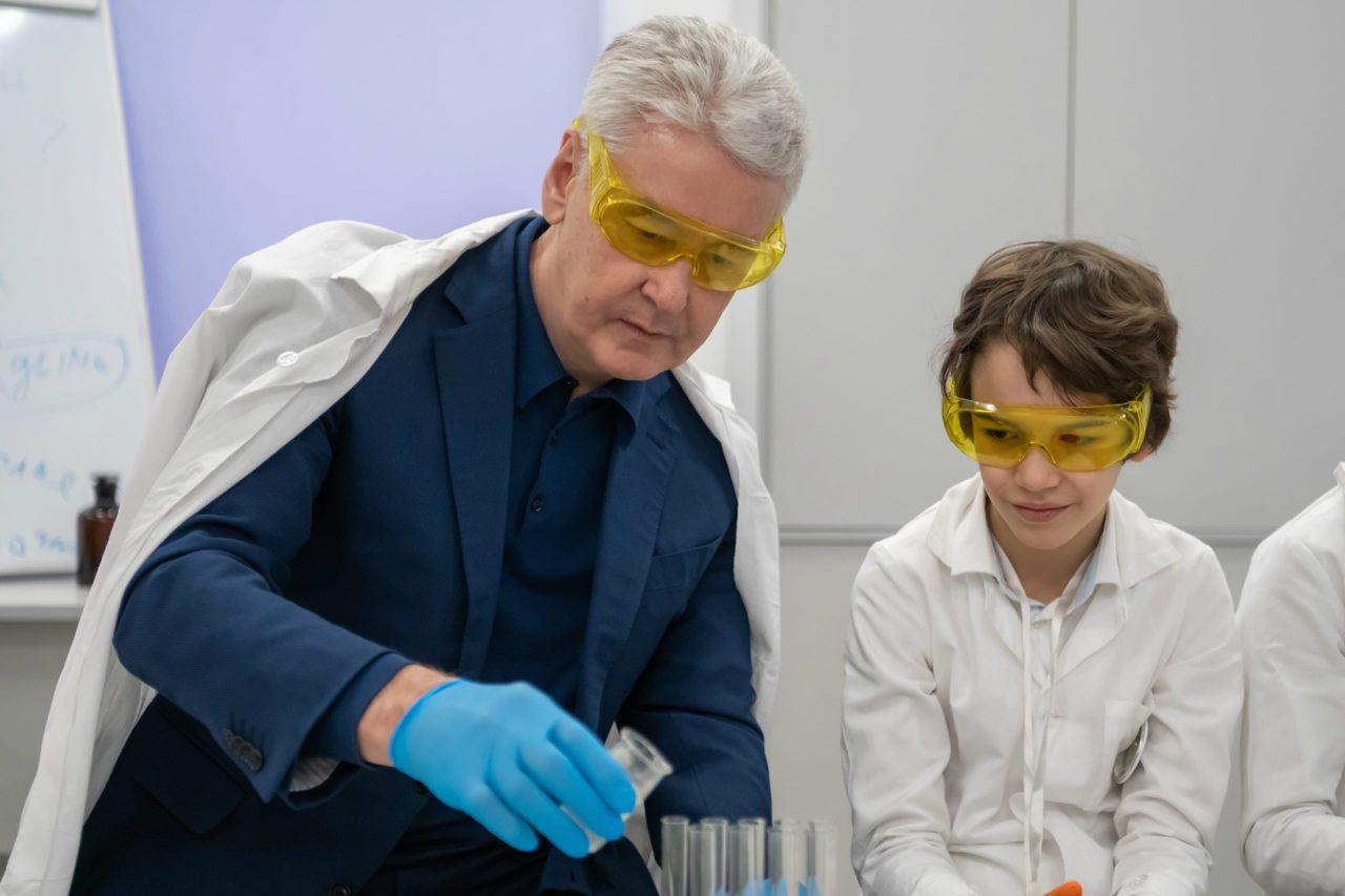 Сергей Собянин открыл детский технопарк «Менделеев Центр»