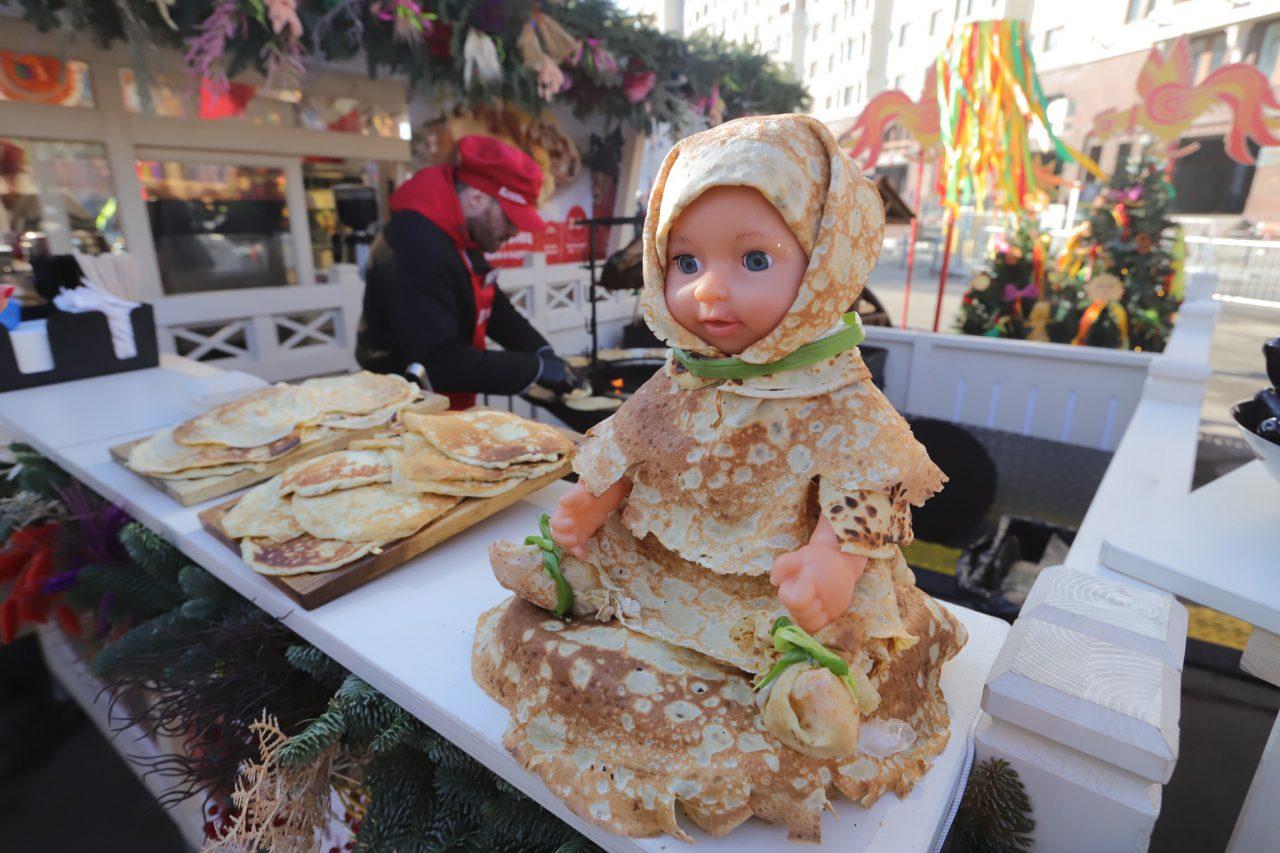 Блинные баттлы пройдут на фестивальных площадках «Московской Масленицы»