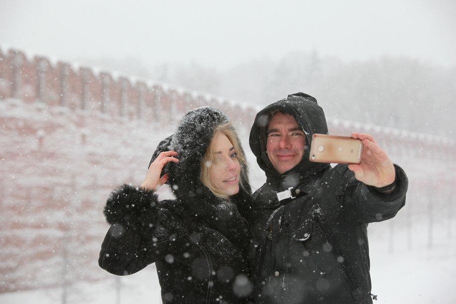Половина месячной нормы осадков может выпасть в Москве в первую декаду февраля