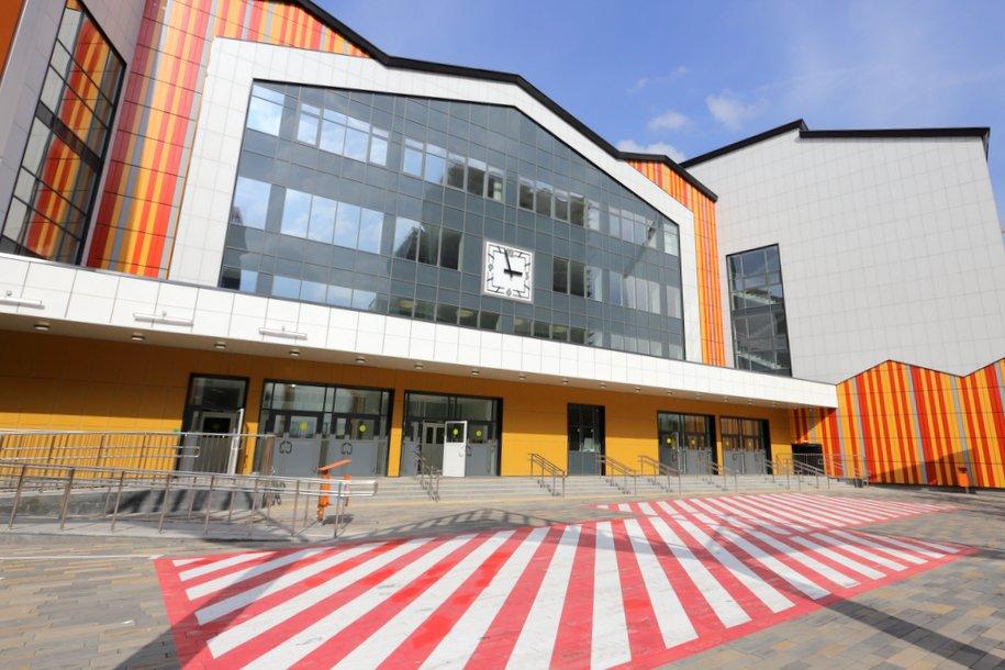 Более 50 социальных объектов построено в Москве с начала года