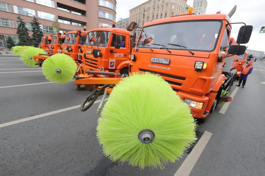Ремонтный сезон стартовал в Москве из-за аномально тёплой погоды