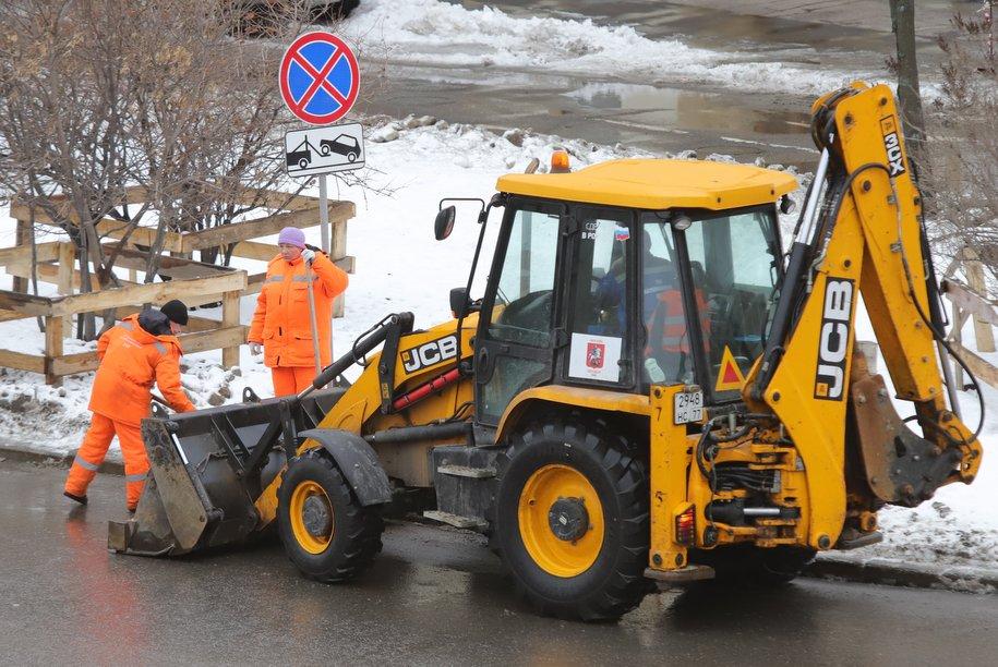 В связи с непогодой городские службы Москвы перешли на усиленный режим работы