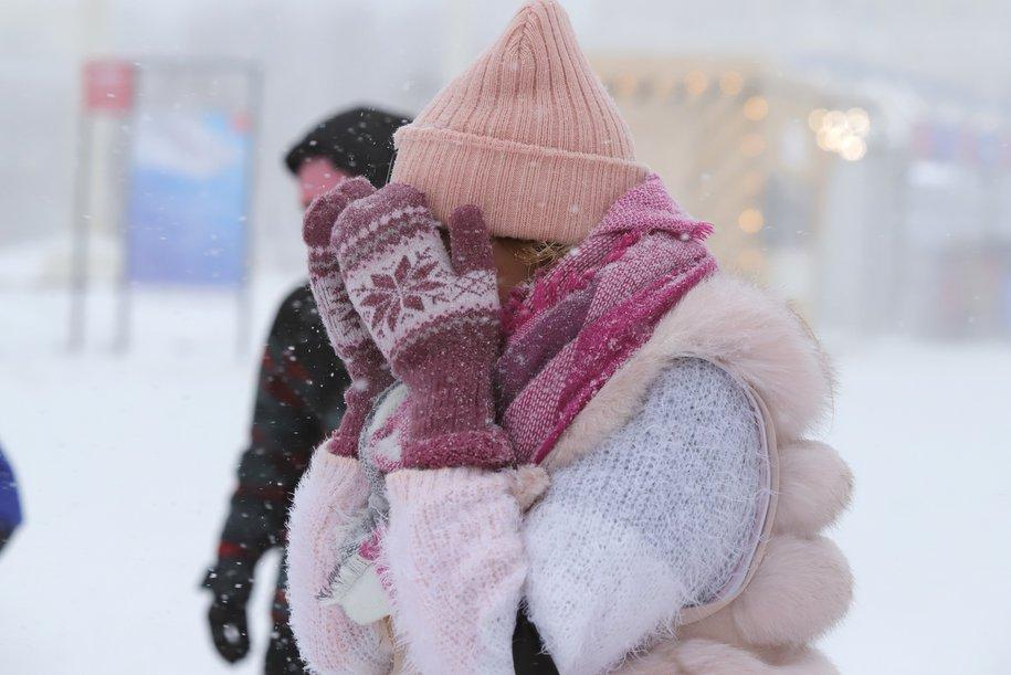 Пик арктического вторжения придётся на выходные