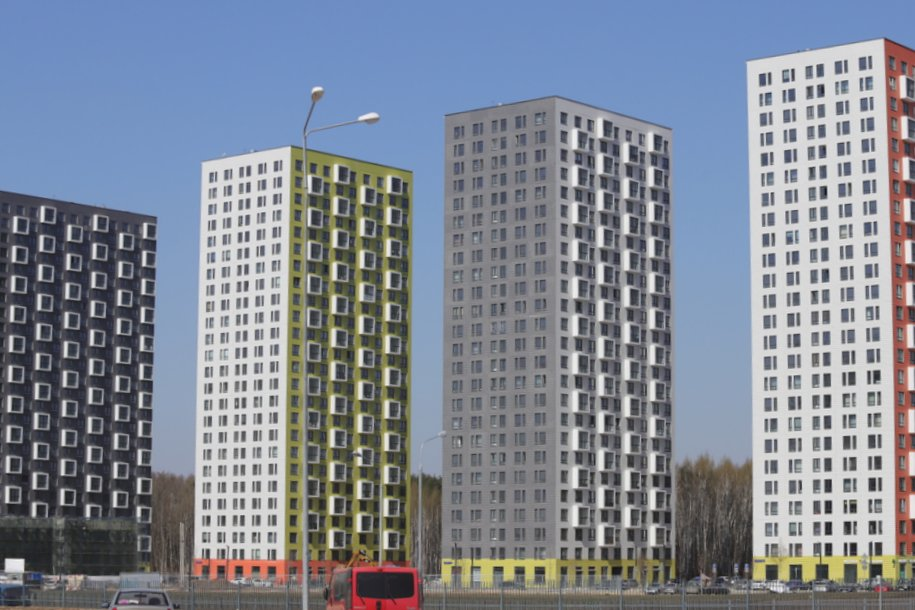 Более 1,4 млн кв. метров недвижимости построено в Москве с начала года