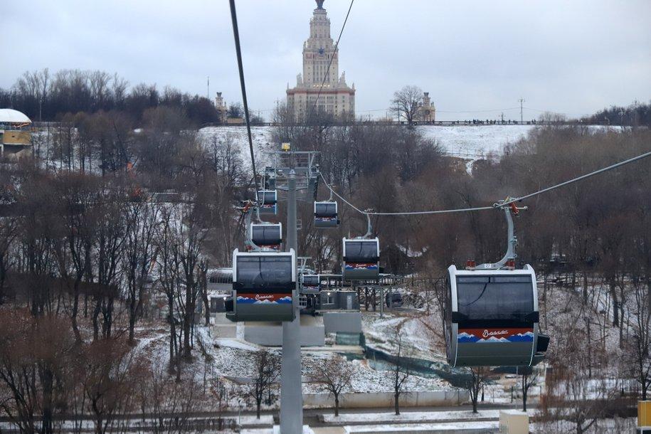 Московская канатная дорога предлагает всем романтикам скидку в День всех влюбленных