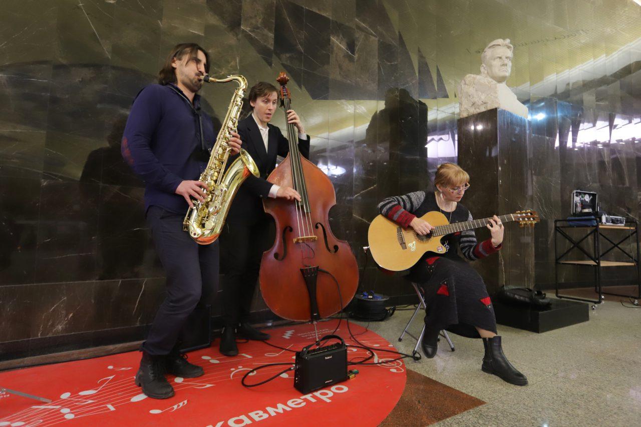 Более 150 заявок подали исполнители с 27 января для участия в пятом сезоне проекта «Музыка в метро»