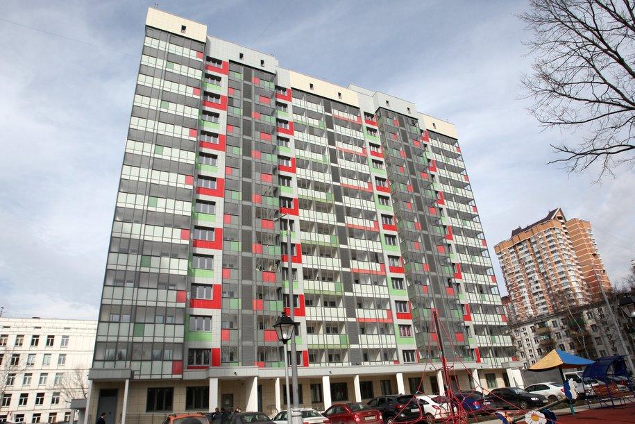 В Южном Тушине начали строить 120-квартирный дом по реновации
