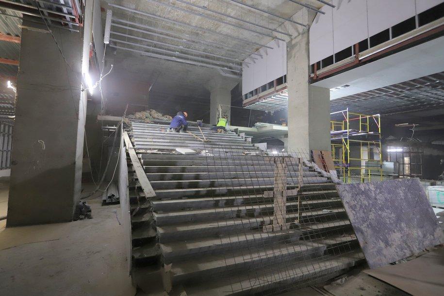 Финальные работы по отделке помещений начались на станции «Нижегородская» Некрасовской ветки метро