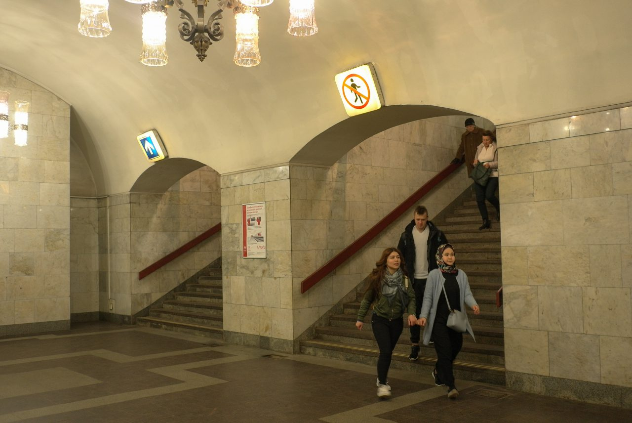 Вестибюль станции метро «Площадь Ильича» 8-9 февраля будет закрыт на ремонт