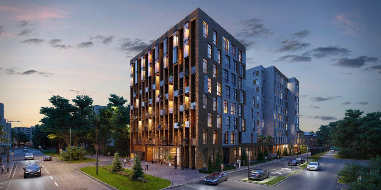 Завершается строительство дома в московском районе Сокол