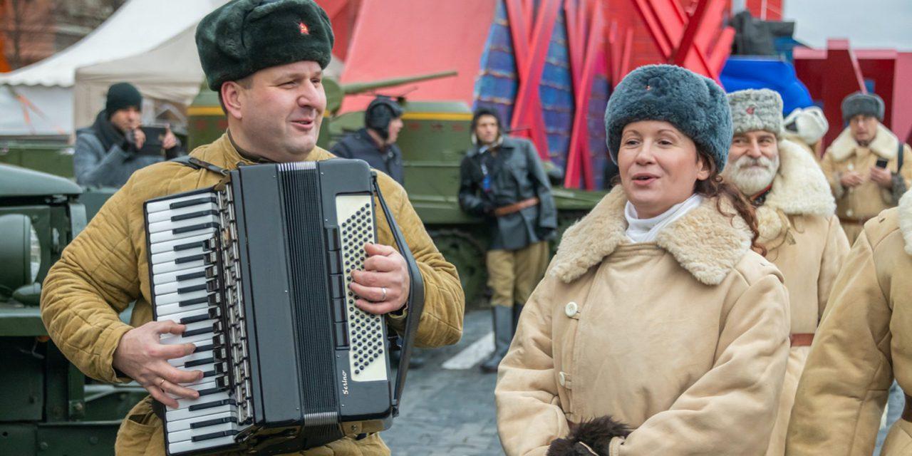 На Пушкинской площади открылся интерактивный военный музей
