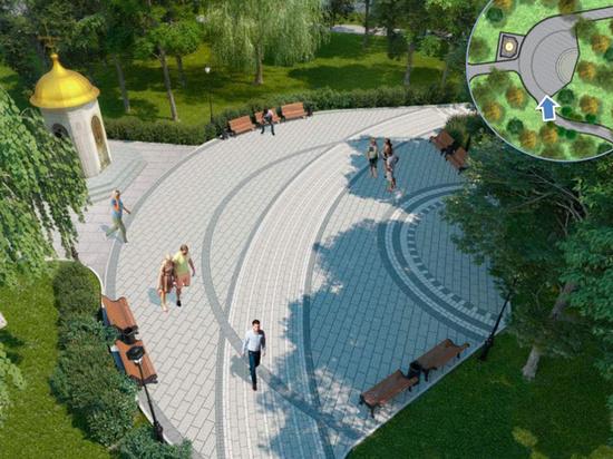 «Монастырский сад» появится на территории Спасо-Андроникова монастыря