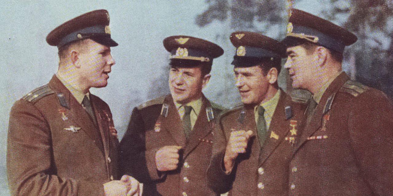 Главархив представляет уникальные документы и фотографии Юрия Гагарина