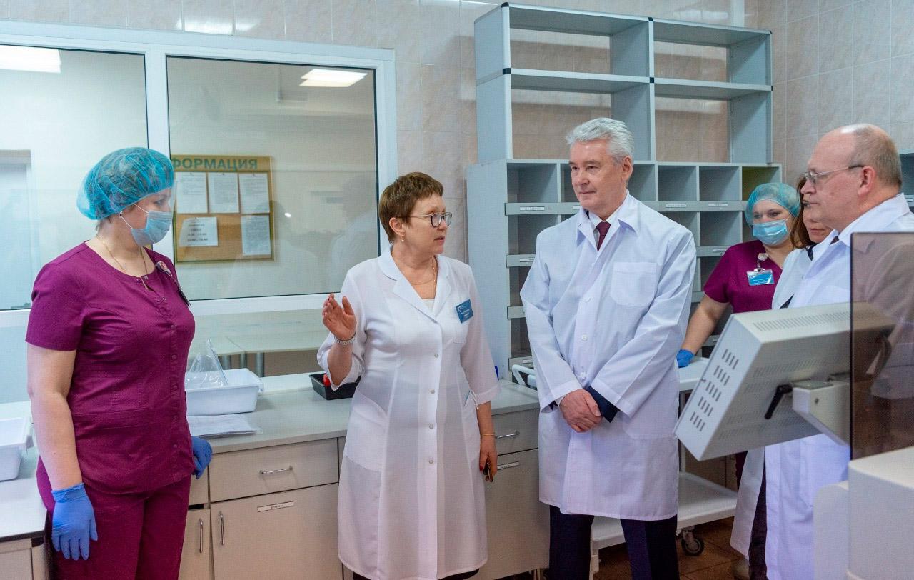 В Москве открыли 9 лабораторий для тестирования коронавируса