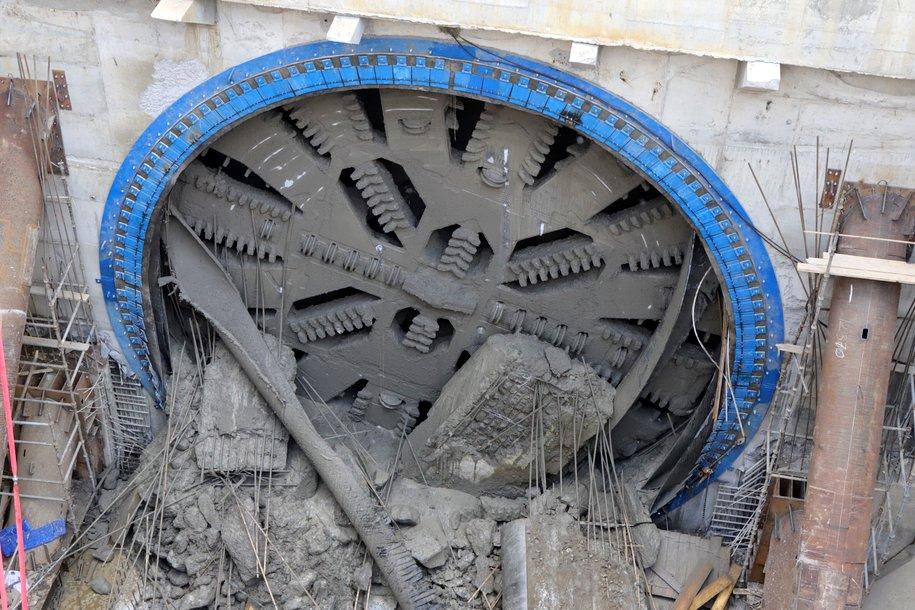 Десятиметровые щиты с начала года проложили почти 1000 метров тоннелей на БКЛ