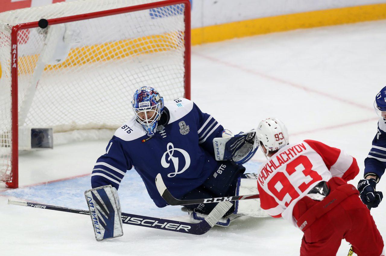 Хоккейный матч «Спартака» и «Динамо» пройдёт без зрителей