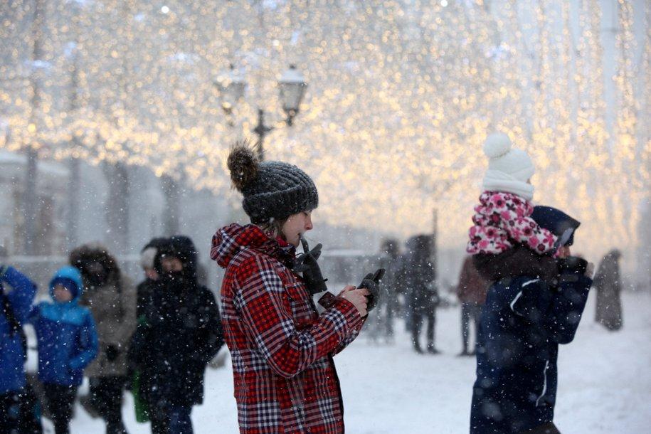 Четверть месячной нормы осадков выпало вечером в субботу и в ночь на воскресенье в Москве
