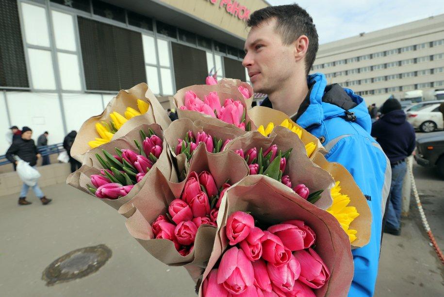 В Москве 8 марта ожидается небольшой дождь и до 10 градусов тепла