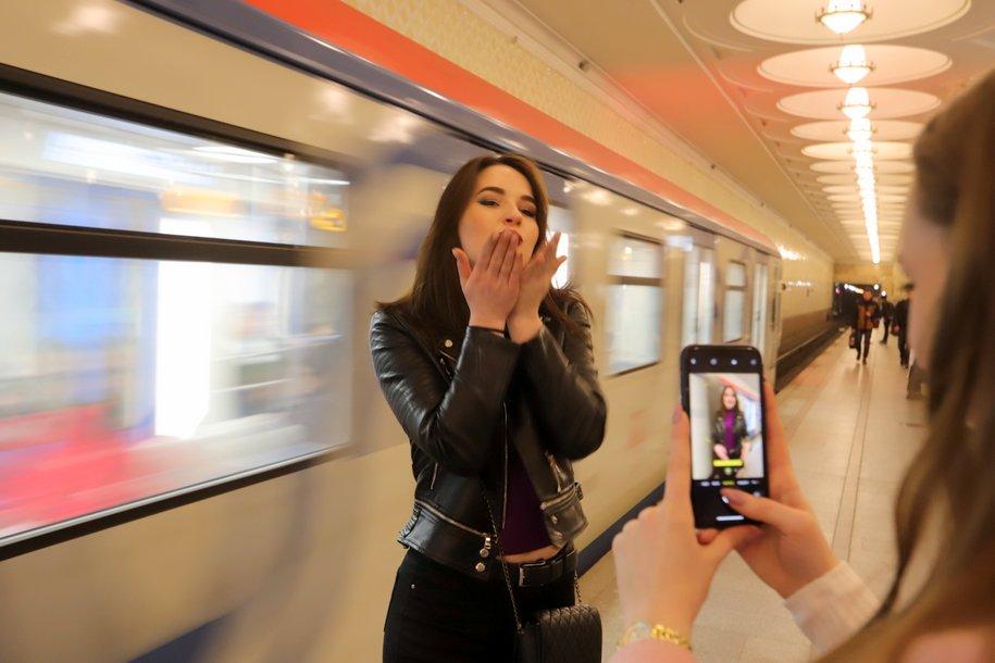 Более миллиона женщин воспользовались бесплатным проездом в мосметро