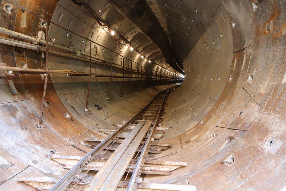 Строительство шестого тоннеля началось на Коммунарской линии метро