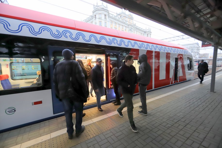 График движения поездов на центральном участке МЦД-2 в выходные изменится до конца марта