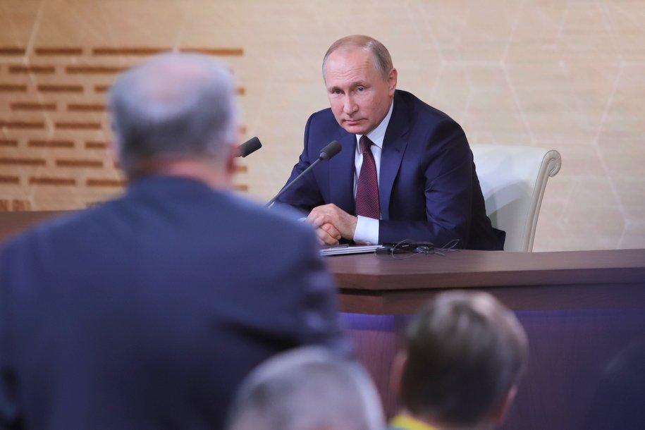 Главные тезисы выступления Президента России Владимира Путина к народу