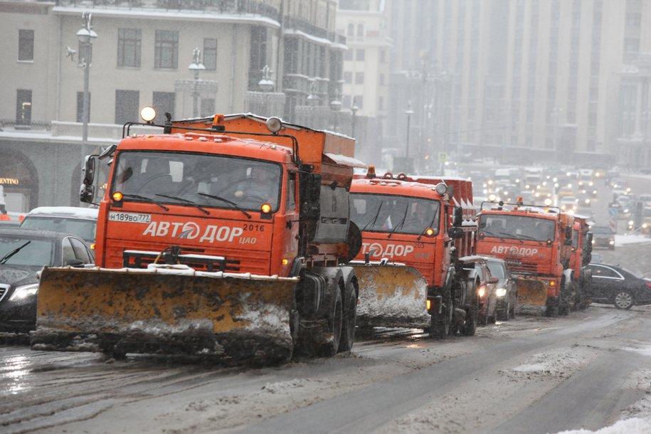 Коммунальные службы готовы к ухудшению погоды в Москве