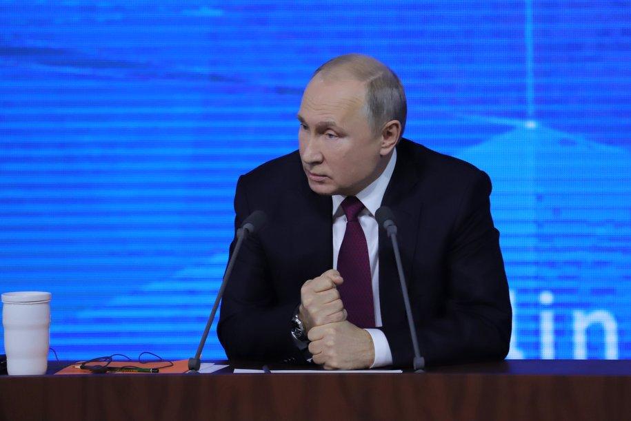 Владимир Путин сравнил уменьшение доходов россиян с падением цен на энергоносители