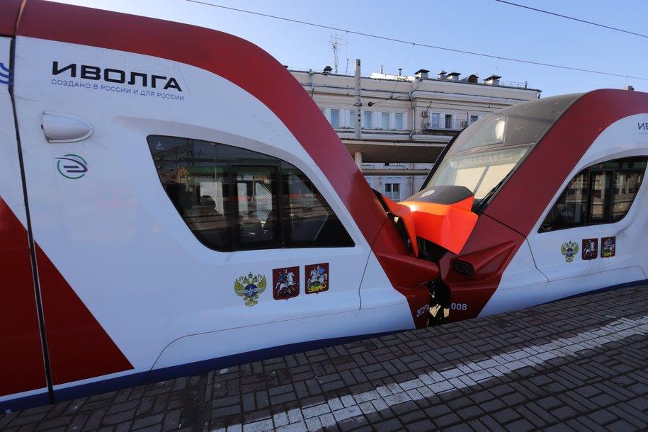 Ежедневную дезинфекцию проходят более 160 вагонов поездов «Иволга» на МЦД