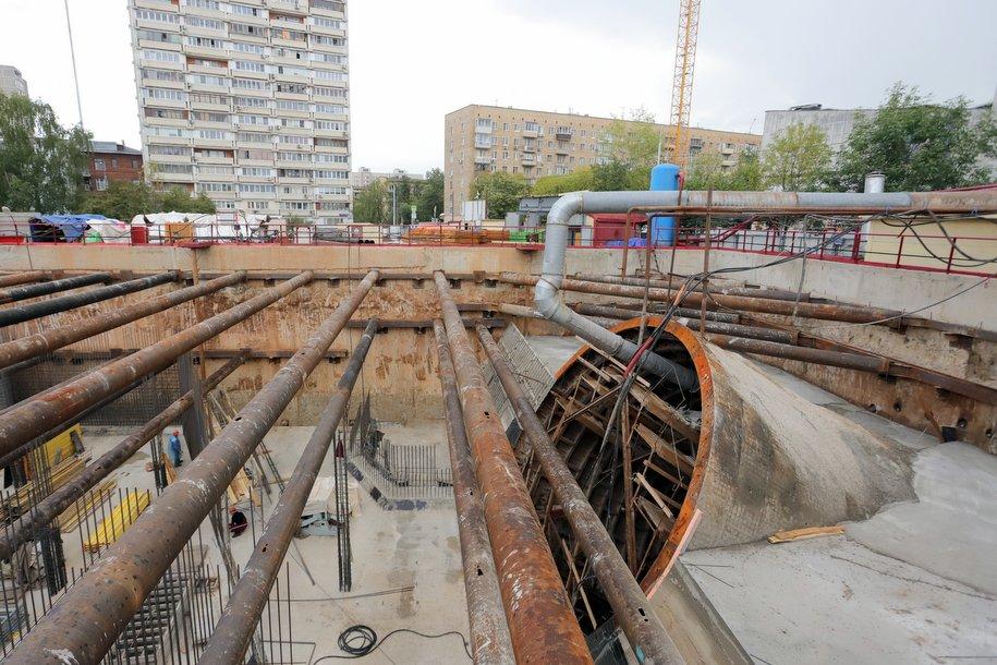 Стартовала проходка тоннеля между станциями «Мамыри» и «Славянский мир» Коммунарской линии метро