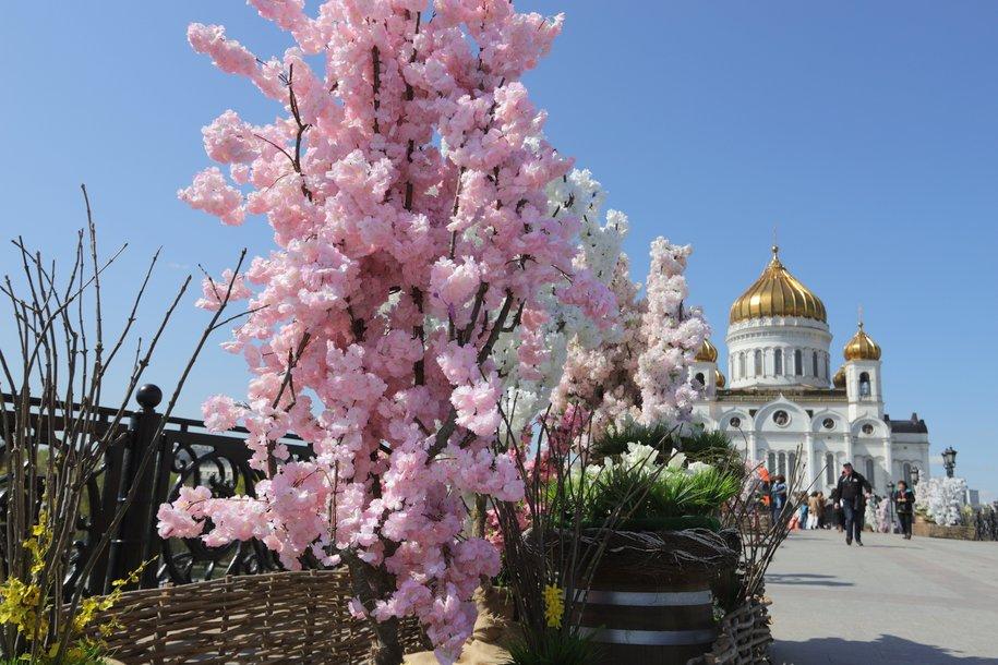 В столицу пришла астрономическая весна