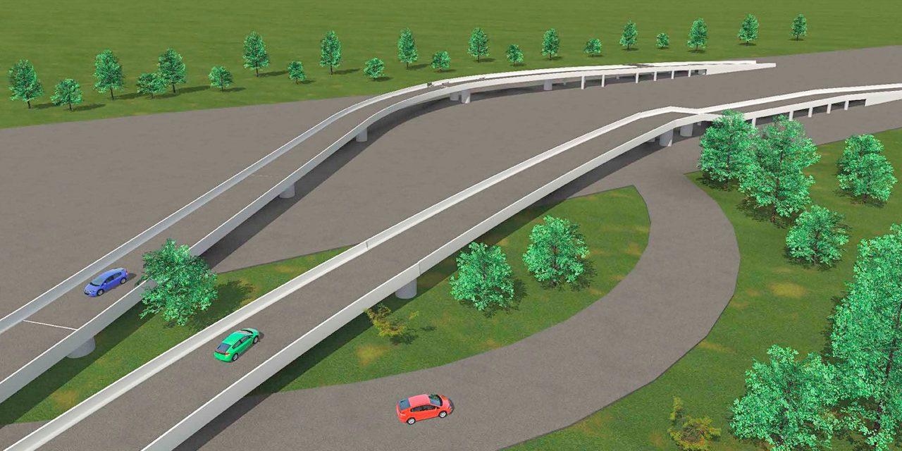 На Калужском шоссе появится съезд в поселок Коммунарка