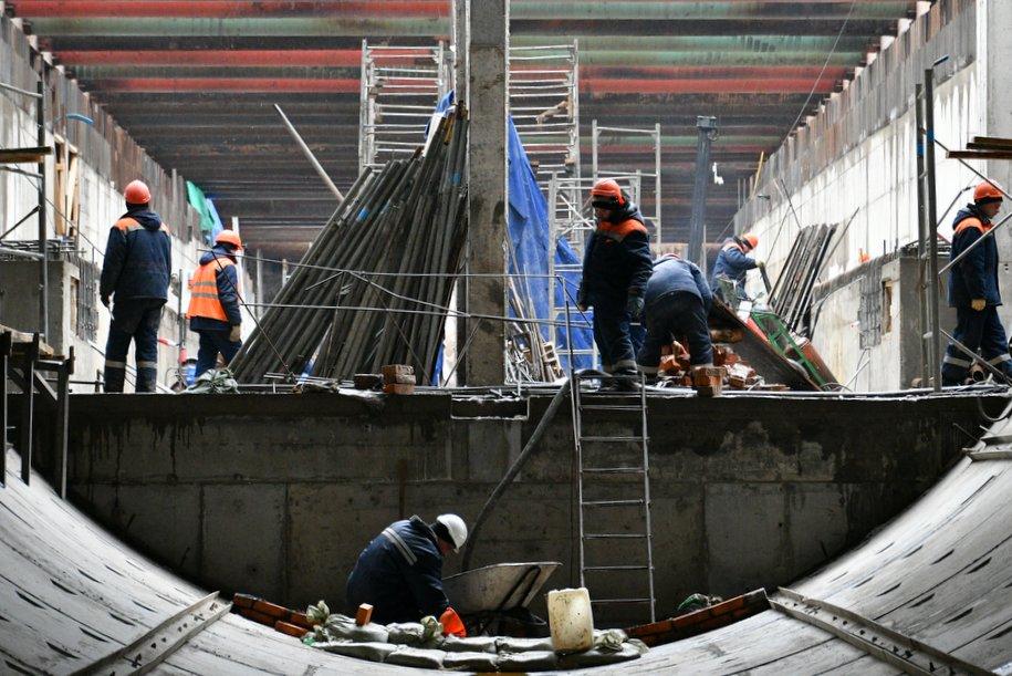 В апреле начнется проходка тоннеля от «Нагатинского затона» до «Кленового бульвара»