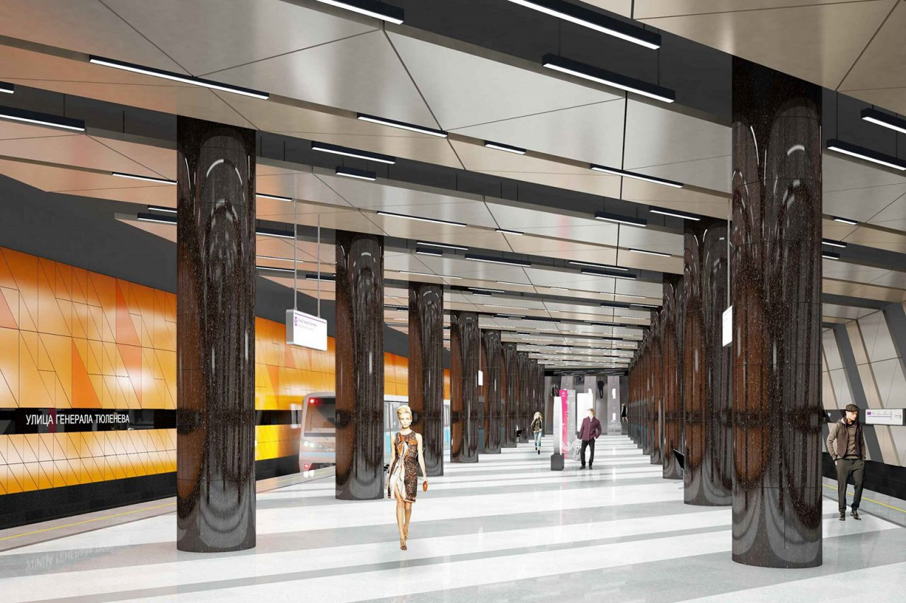 Станцию метро «Улица Генерала Тюленева» украсит панно с портретом героя