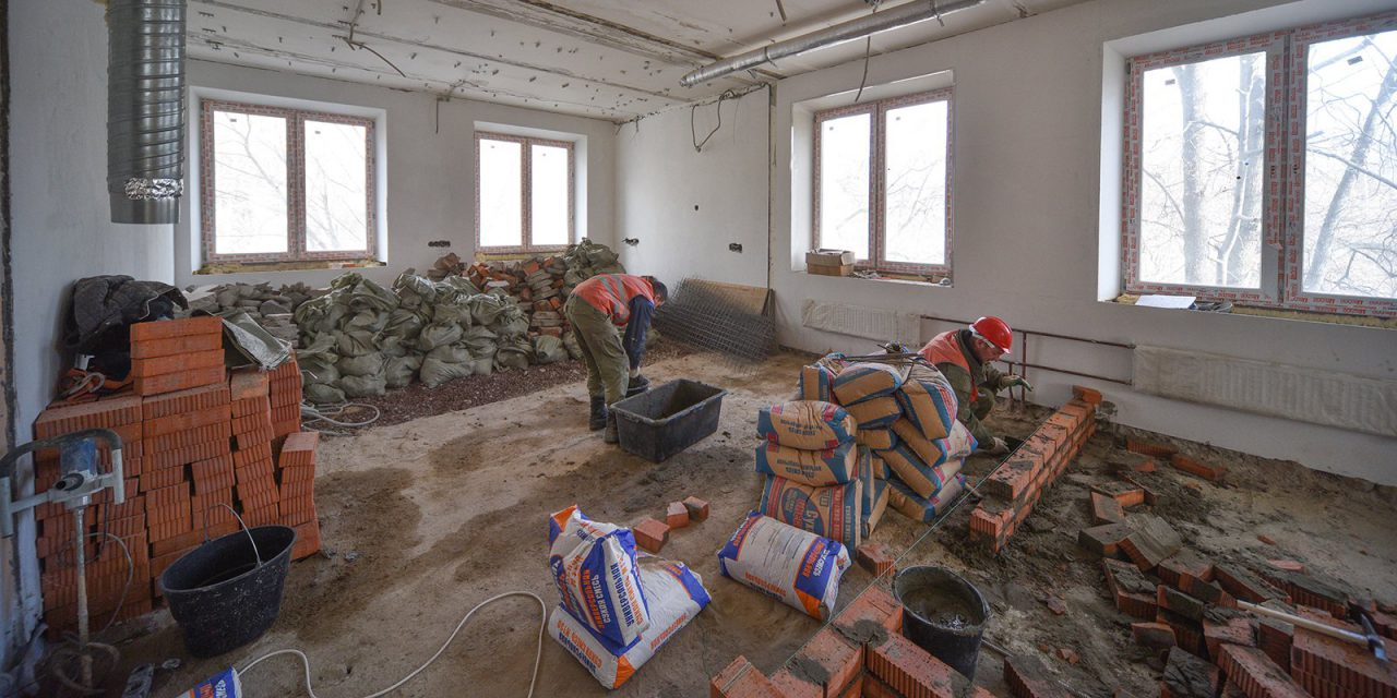 В филиале № 1 детской поликлиники № 7 начался капитальный ремонт