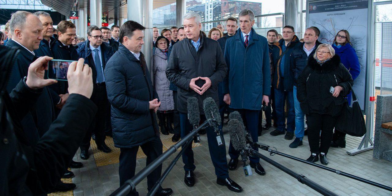 На Киевском направлении открыли платформы Санино и Победа