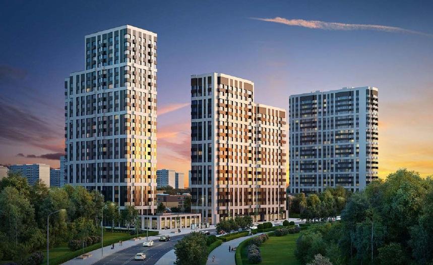 Мосгосстройнадзор проверил ход строительства дома в ЖК «Квартал на Никулинской»