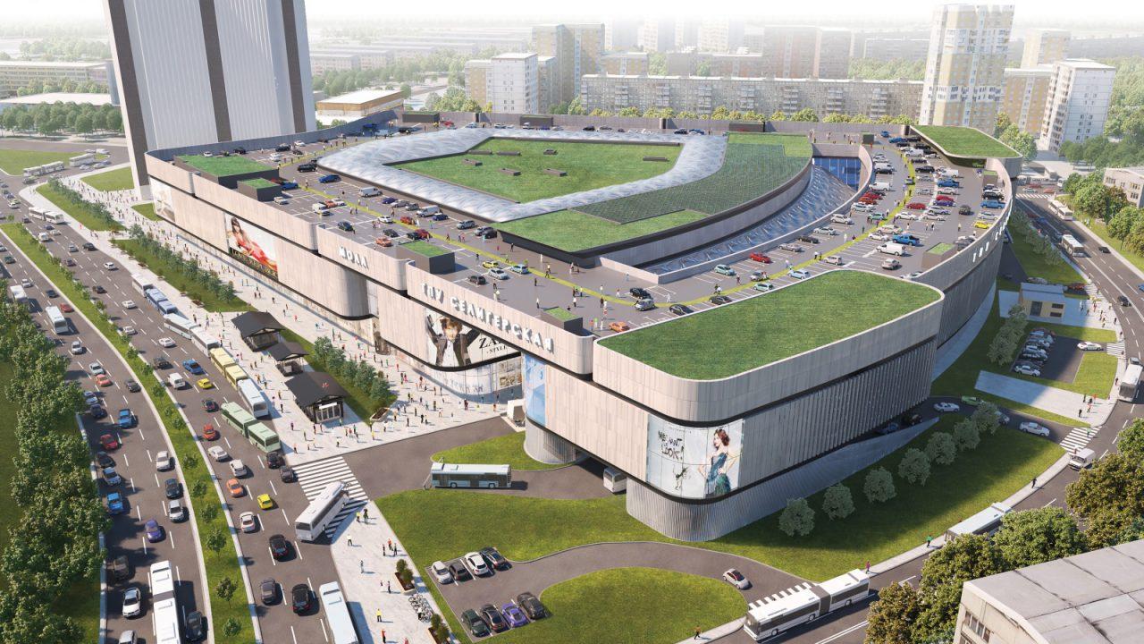 Средняя площадь торговых центров Москвы выросла