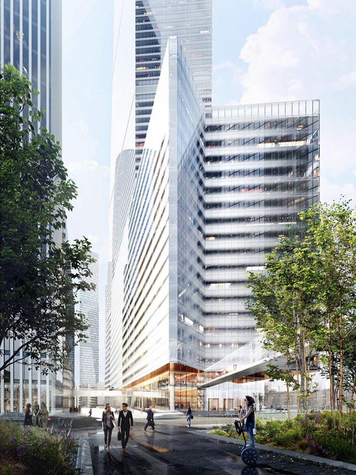 Самый высокий жилой небоскреб в Европе построят в Москве
