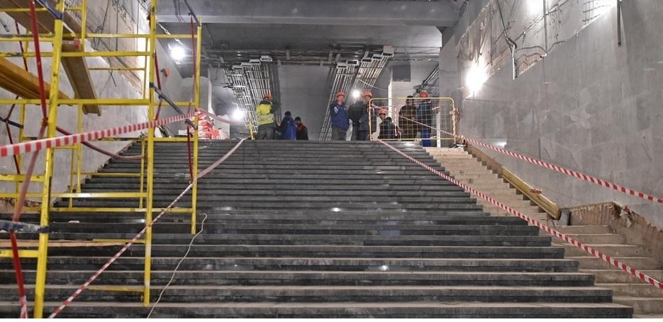 Проект подземного пешеходного перехода в составе ТПУ «Некрасовка» одобрен Москомархитектурой