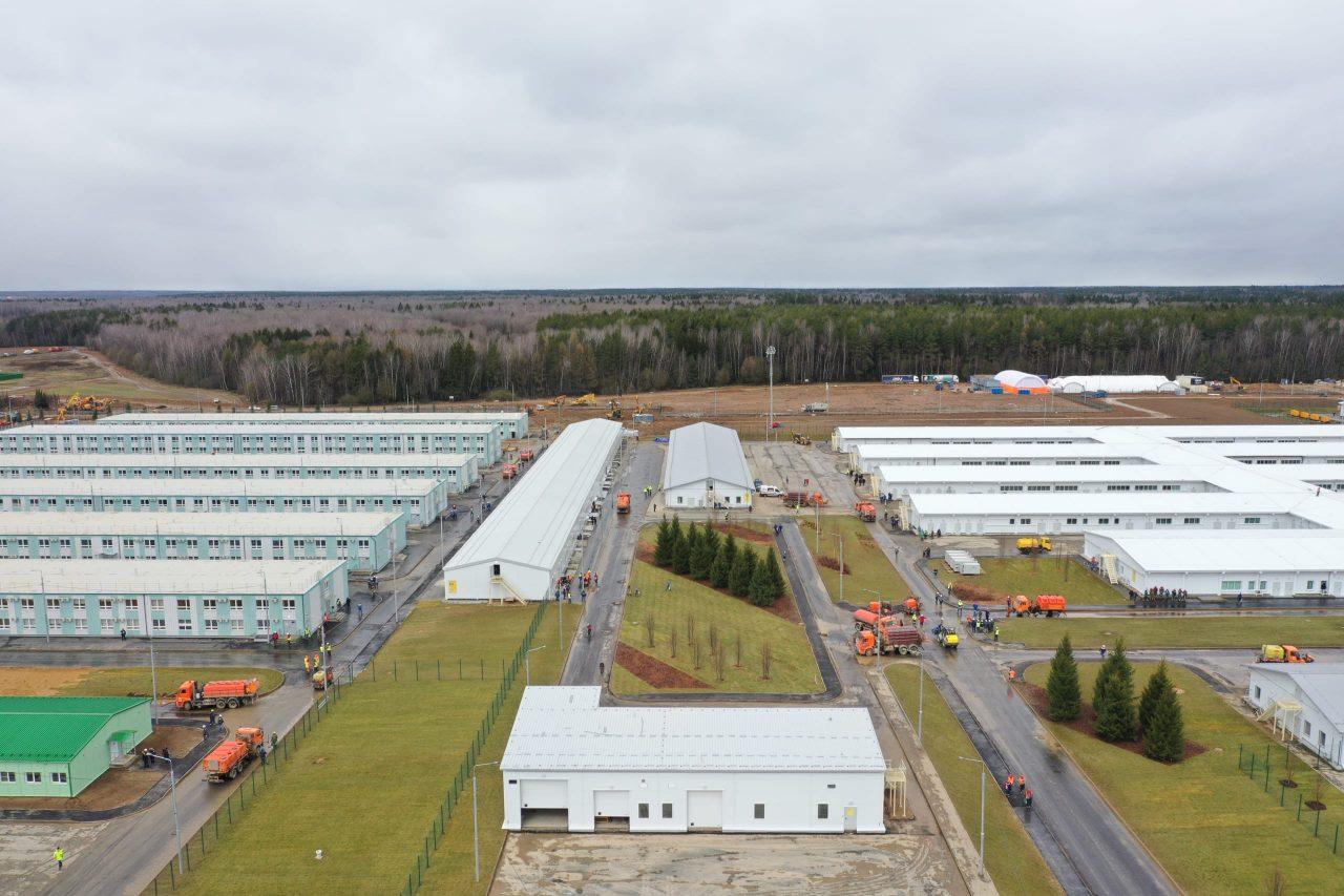 Новая инфекционная больница в поселении Вороновское откроется 20 апреля