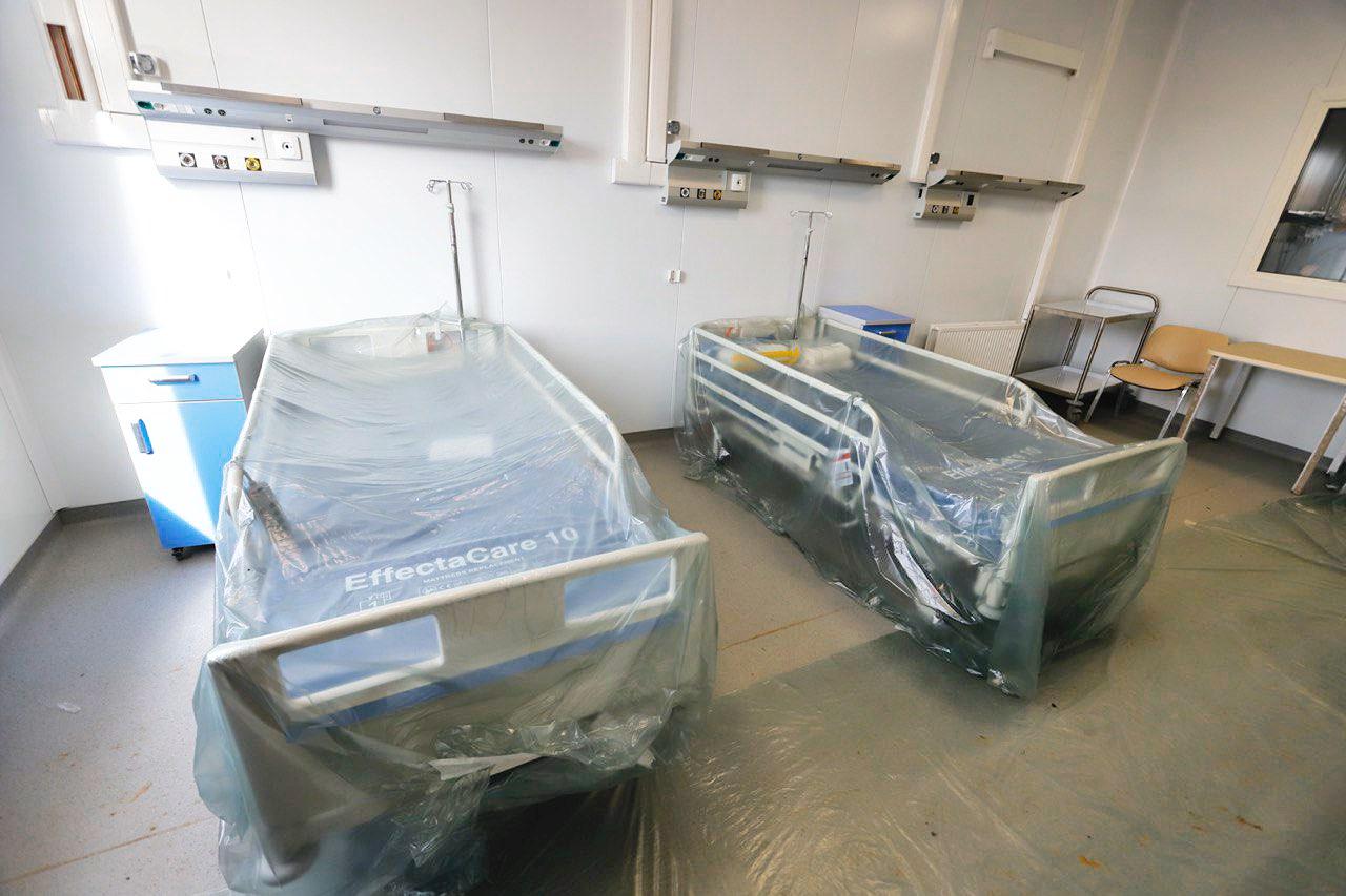 Более 770 аппаратов ИВЛ установят в инфекционном центре в Новой Москве