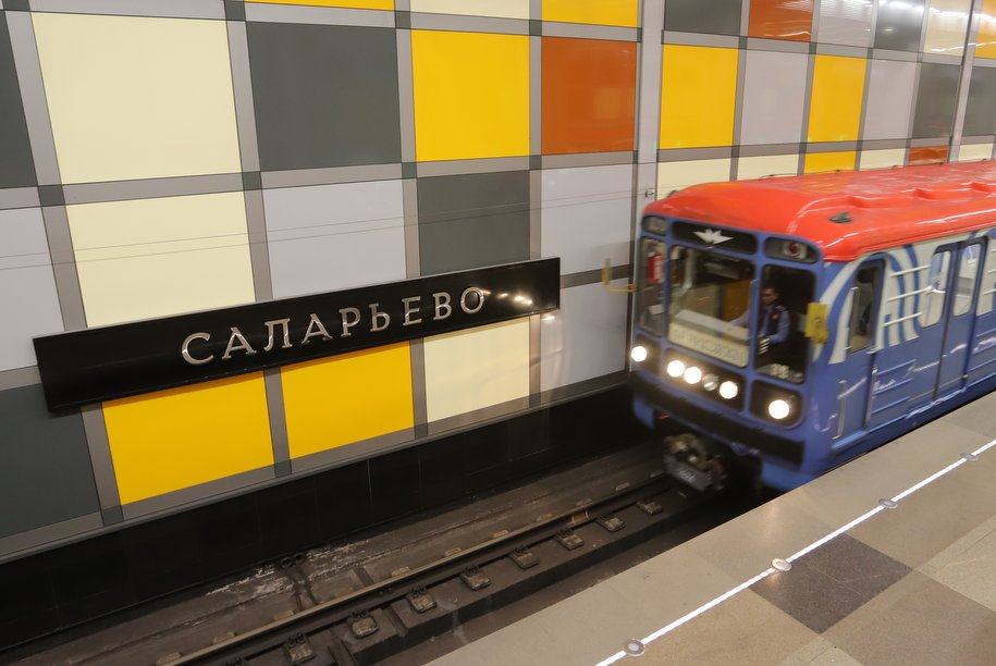 Пассажиропоток Московского метрополитена снизился на 81%