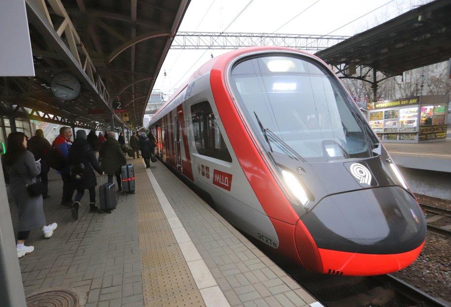 Поезда МЦД начали дополнительно дезинфицировать холодным паром