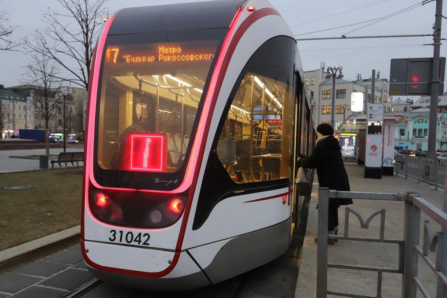 Производитель трамваев «Витязь-Москва» планирует до конца года предоставить столице еще 50 трамваев