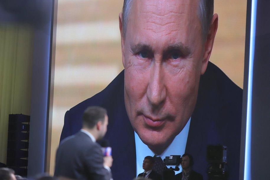 Владимир Путин может на следующей неделе вновь обратиться к нации